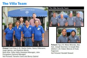Meet the Villa Team!